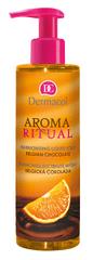 Dermacol Harmonizujúci tekuté mydlo Belgická Čokoláda s pomarančmi Aroma Ritual (Harmonizing Liquid Soap)