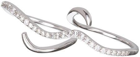 Preciosa Srebrny Pierścień Delikatne Perfection 6049 00 srebro 925/1000