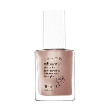 Avon Odżywczy skomplikowana perłowy paznokci paznokci Ekspertów 10 ml (cień Sheer Lilac)