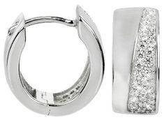 Silver Cat Ezüst fülbevaló cirkónia kővel SC220 ezüst 925/1000
