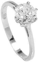 Brilio Silver Strieborný zásnubný prsteň 5119085 striebro 925/1000