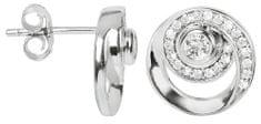Silver Cat Ezüst fülbevaló cirkónia kővel SC223 ezüst 925/1000