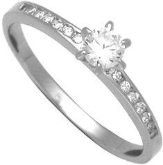 Brilio Silver Ezüst eljegyzési gyűrű 31G3042 ezüst 925/1000