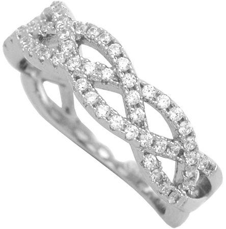 Brilio Silver Stříbrný prsten se zirkony 31G3035 (Obvod 58 mm) stříbro 925/1000