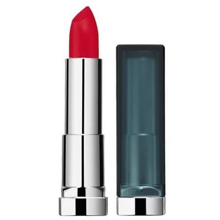 Maybelline Kolor szminki matujący zmiękczający skórę 4 ml sensacyjne (cień 886 Berry Bossy)