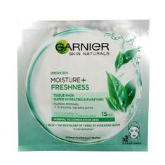 Garnier Moisture + Freshness szuper hidratálóarctisztító maszk zöld tea kivonattal (Tissue Super Hydrating