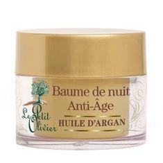Le Petit Olivier Regenerujące noc balsam z 50 ml olej arganowy