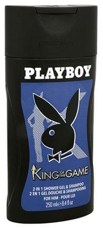 Playboy King Of The Game - żel pod prysznic 250 ml