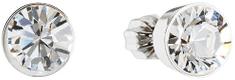 Evolution Group Náušnice s kryštálmi Swarovski 31113.1 krystal striebro 925/1000