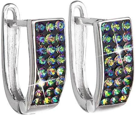 Evolution Group SrebrneKolczykiz kryształkami Swarovski 731123.5 vitrail medium srebro 925/1000