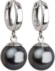 Evolution Group Ezüst fülbevaló gyönggyel31151.3 grey ezüst 925/1000