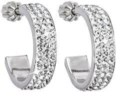 Evolution Group Ezüst félkarika fülbevaló 31119.1 krystal ezüst 925/1000