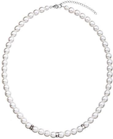 Evolution Group Fehér színű gyöngysor 32012.1 ezüst 925/1000