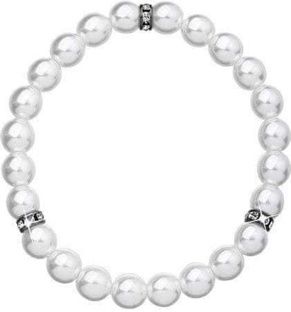 Evolution Group Fehér gyöngy karkötő 33017.1 ezüst 925/1000