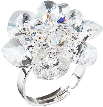 Evolution Group Tavirózsa gyűrű35012.1 crystal ezüst 925/1000