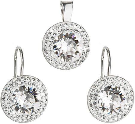 Evolution Group á la Kate Middleton ékszer szett39107.1 crystal ezüst 925/1000