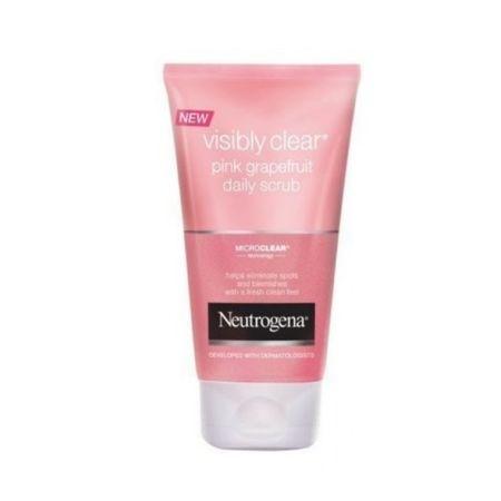 Neutrogena Odświeżanie obierania ekstraktami różu grejpfruta widoczne jasne różowy grejpfrut (Daily Scrub) 150