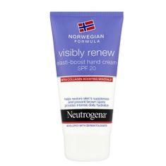 Neutrogena Denný krém na ruky Visibly Renew SPF 20 (Elasti-Boost Hand Cream) 75 ml