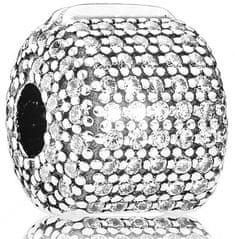 Pandora Luxusné klip osadený kryštálmi 791873CZ striebro 925/1000