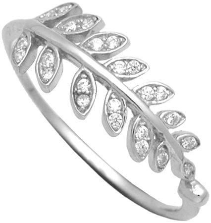 Brilio Silver Ezüst gyűrű cirkónia kővel 31G3031 (áramkör 54 mm) ezüst 925/1000