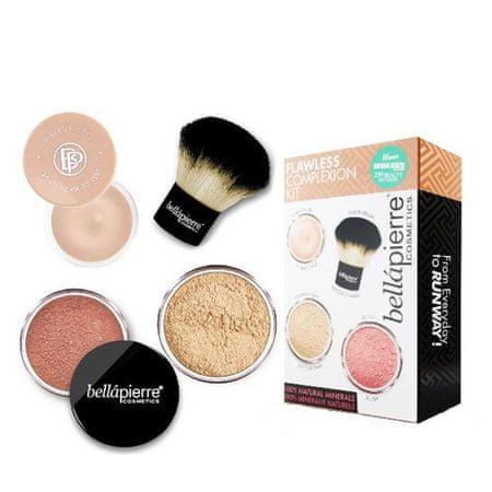 Bellapierre Sada pre dokonalý make-up Flawless Complexion (Make-Up Kit) (Odtieň Deep)