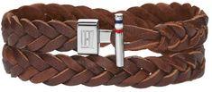 Tommy Hilfiger Hnědý kožený náramek TH2700532