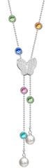 Preciosa Hravý náhrdelník Lea 7322 70