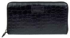 Lagen Női fekete bőr pénztárca fekete 11227