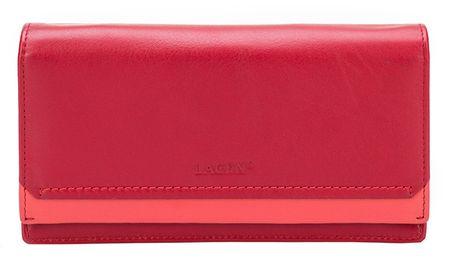 Lagen Nő piros bőr pénztárca Red R / C 10181