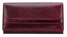 Lagen Dámská vínová kožená peněženka Wine Red W-2025/T