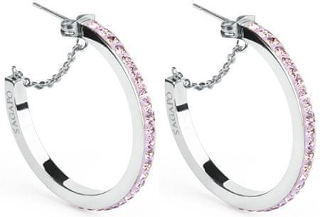 S'Agapõ Crystal Ring karika fülbevaló SCR25