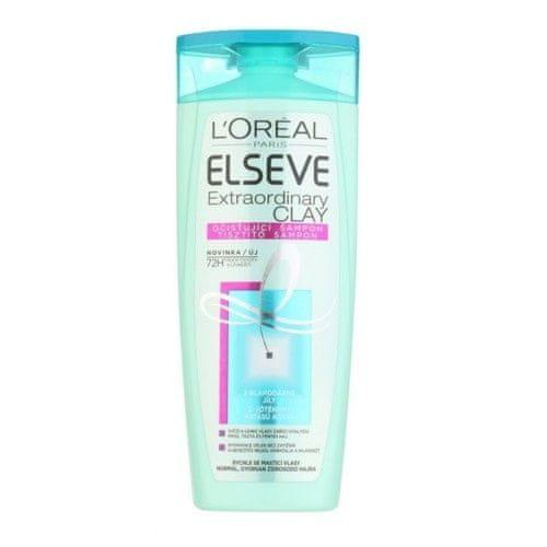 Loreal Paris Čistiace šampón pre mastné vlasy Elseve Extraordinary Clay (Objem 250 ml)