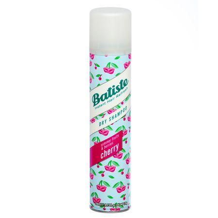 Batiste Száraz sampon cseresznye illattal (Dry Shampoo Cherry With A Fruity & Cheeky Fragrance) (mennyiség 2