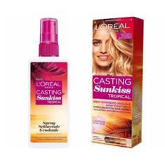 L'Oréal Postupně zesvětlující sprej pro tmavě hnědé až blond vlasy (Casting Sunkiss Tropical) 125 ml