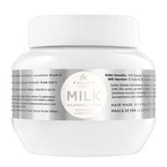 Kallos Maska s mliečnymi proteínmi pre suché a poškodené vlasy Milk (Hair Mask With Milk Protein)