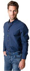 Heavy Tools Pánska košeľa s dlhým rukávom Reply W16-411 Blue