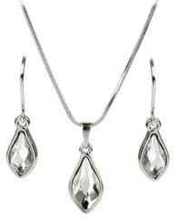 Troli Sada náušníc a náhrdelníka Flame Crystal