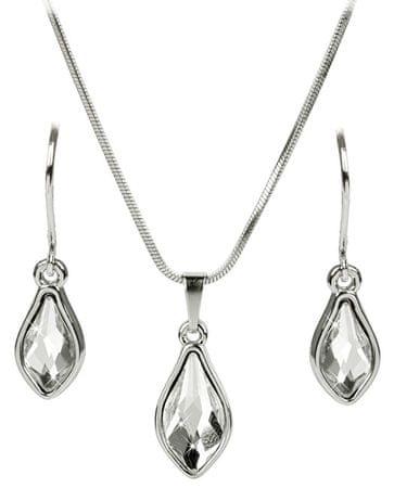 Troli Set uhanov in ogrlice Flame Crystal