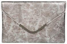 Lecharme Social elegancki srebrny sprzęgło 13000383-2