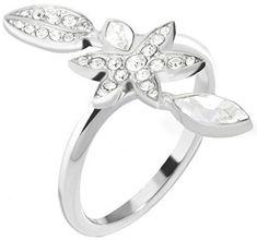 Morellato Oceľový prsteň s kvetinou Natura SAHL17