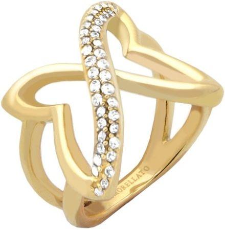 Morellato stalowy pierścień Battito SAHO16 (obwód 54 mm)