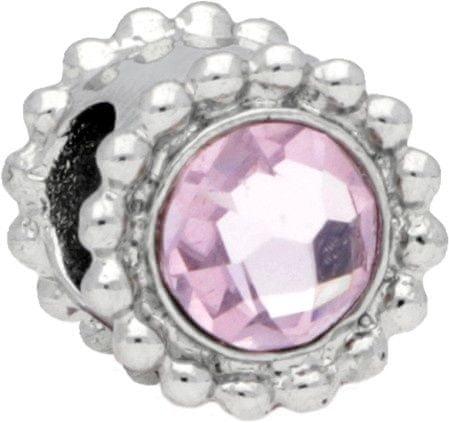 Morellato Drops Crystal Light Pink nemesacél medál SCZ773
