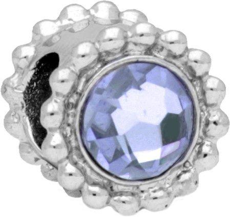 Morellato Ocelový přívěsek Drops Crystal Tanzanite SCZ774