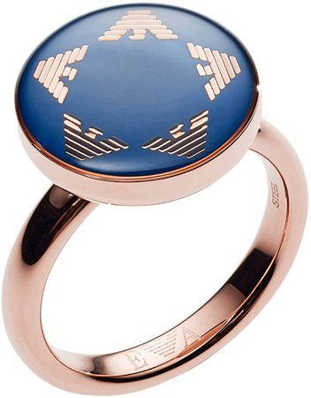 Emporio Armani Odzież luksusowych pierścień EGS2236221 (obwód 52 mm)