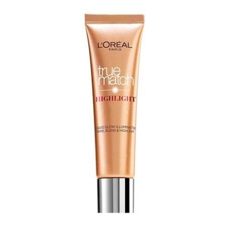 Loreal Paris Folyékony arcbőrélénkítő (True Match Hightlight), 30 ml (árnyalat Golden Glow)