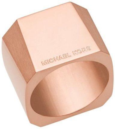 Michael Kors Masszív nemesacél gyűrű MKJ5833791 (áramkör 56 mm)