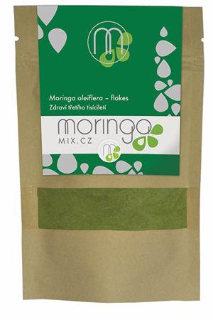 Moringa MIX Moringou olejodárná 100% - flakes 30 g