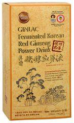 GINLAC Fermented Red Ginseng Power Drink MILD - ženšenový nápoj 5 x 40 ml