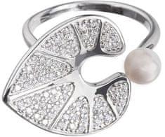 Preciosa Romantični prstan Vodna lilija 5194 00 srebro 925/1000