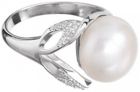 Preciosa Cleopatra`s Secret gyöngy gyűrű 5208 00 ezüst 925/1000